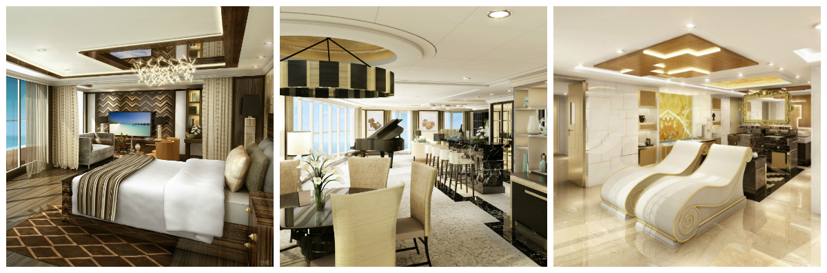 La Suite Top Regent, une suite incomparable dans le monde de la navigation
